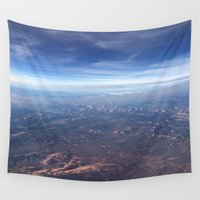 airplane Wall Tapestries featuring Airplane Wonder by JayKay