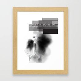 Karl inspirations Framed Art Print