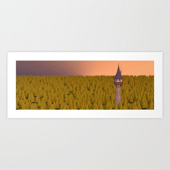 Land Art Print