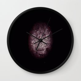 Rugby Ball Texture Wall Clock