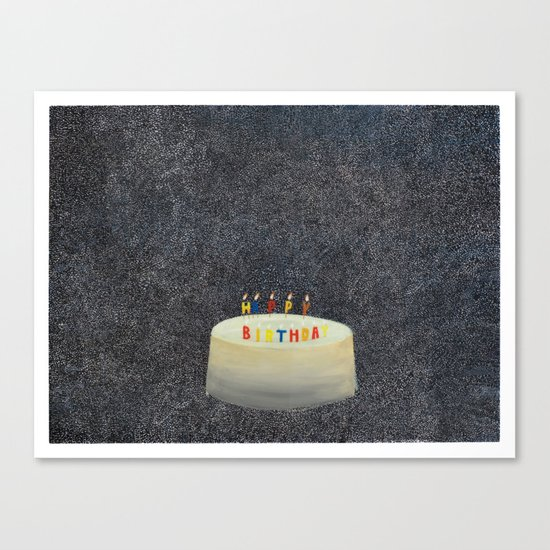 Unbirthday Canvas Print