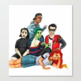 The Titans club Canvas Print