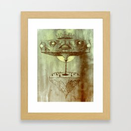 Block Squirt in the Forest Framed Art Print