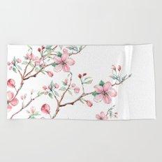 Apple Blossom 2 #society6 #buyart Beach Towel