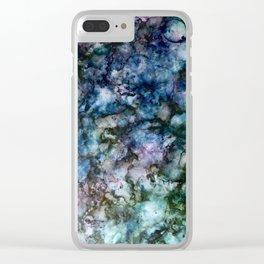 deep tones Clear iPhone Case