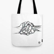Handholding Tote Bag