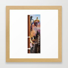 Cheater Framed Art Print
