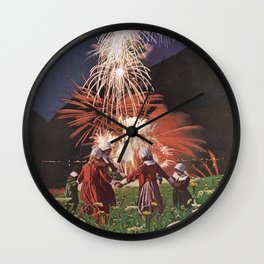 Gunpowder Villain Wall Clock