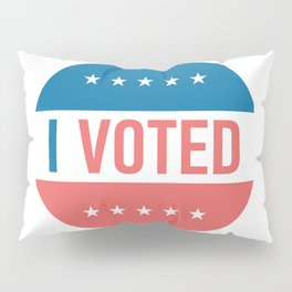 I voted sticker #society6 #decor #buyart #artprint Pillow Sham