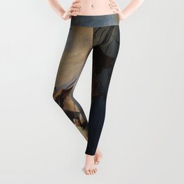 Rembrandt's The Storm on the Sea of Galilee Leggings