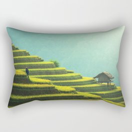 Asian agriculture Rectangular Pillow