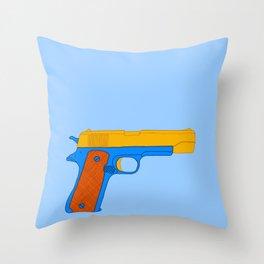 Coloful Toy Beretta Throw Pillow