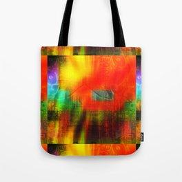 Spectrum Orange Tote Bag