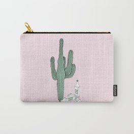 Cactus and Tequila Carry-All Pouch