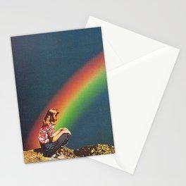 NIGHT RAINBOW Stationery Cards
