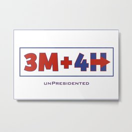 unPresidented Metal Print