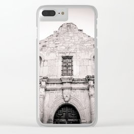Remember the Alamo Clear iPhone Case