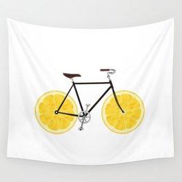 Lemon Bike Wall Tapestry