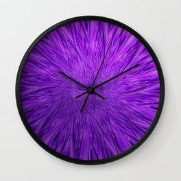 Purple People Eater Wall Clock
