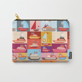 Ships and Boats Carry-All Pouch