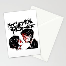my chemical romance three cheers white 2021 Stationery Cards