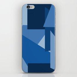 Blu-Geometric iPhone Skin
