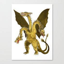 King Ghidorah Canvas Print
