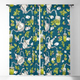 Moroccan Mint Tea Blackout Curtain