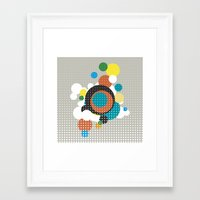 bubbles Framed Art Prints featuring bubbles by Heinz Aimer