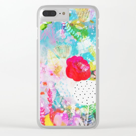 Lula Clear iPhone Case