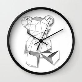 single bear  Wall Clock