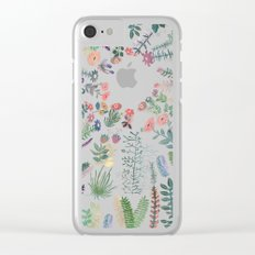 My best Garden Clear iPhone Case