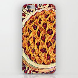 Coffee & Cherry Pie, Food For Thought iPhone Skin