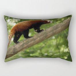 Happy Red Panda. Rectangular Pillow