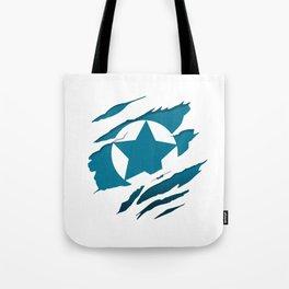 American Blue Flag Pride Tote Bag