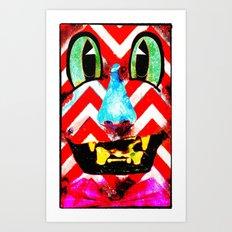 Boxface #2 Art Print