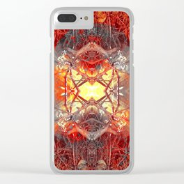 Spontaneous human combustion Clear iPhone Case