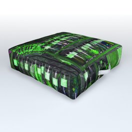 Potion Class - Green Hues Outdoor Floor Cushion
