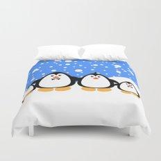 NGWINI - penguin family v3 Duvet Cover