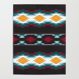 Native American Inspired Design Poster