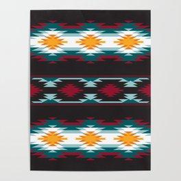 Native American Inspired Design Poster
