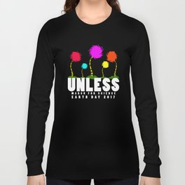 Official unless march for science earth day 2017 Long Sleeve T-shirt