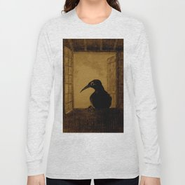 "Odilon Redon ""Le Corbeau (The Crow)"" Long Sleeve T-shirt"
