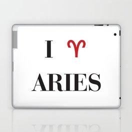 I heart Aries Laptop & iPad Skin
