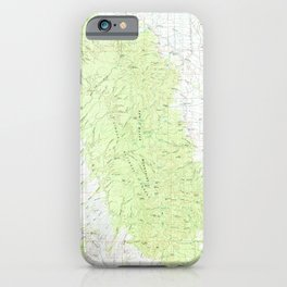 NM San Mateo Mountains 194359 1979 topographic map iPhone Case