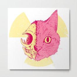 SCHRODINGERS CAT Metal Print