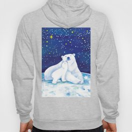 Polar bears, arctic animals Hoody