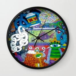 ToyBox Mind Clutter Wall Clock