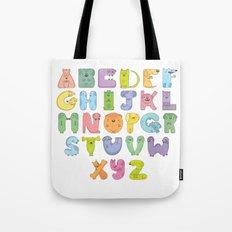 Dogs alphabet Tote Bag