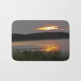 Sunset Reflection Bath Mat